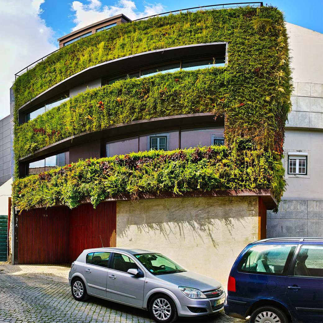 Haus in Travessa do Patrocínio von Rebelo de Andrade Architekten